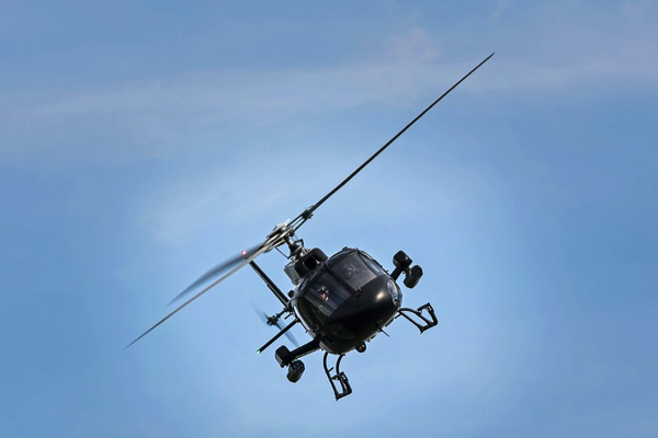 Helikopterpilot for en dag 3