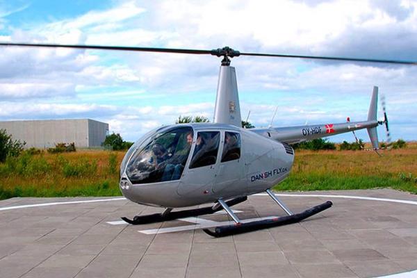 Privat helikoptertur