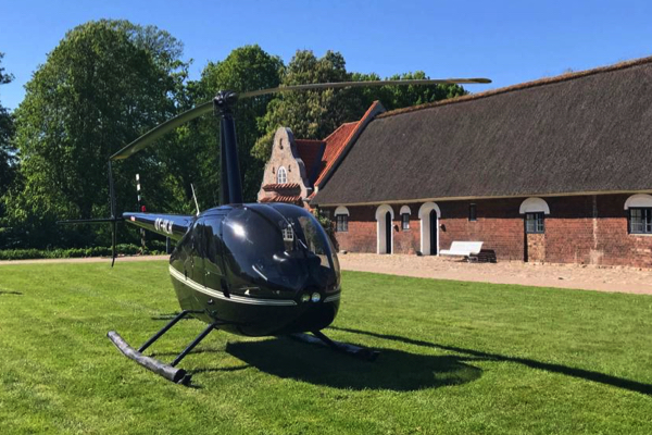 Helikoptertur med Herning Helicopters 2